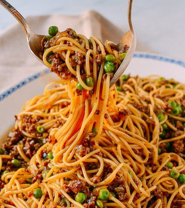Chinese Style Bolognese. Wait. What?