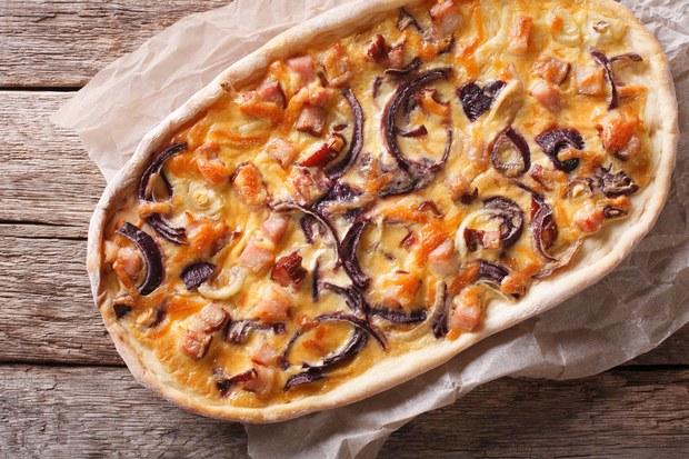 Alsace Onion Tart